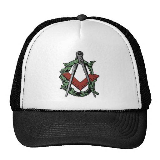 Square Compasses Hat