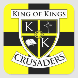 Square Crusaders Sticker large