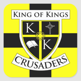 Square Crusaders Sticker small