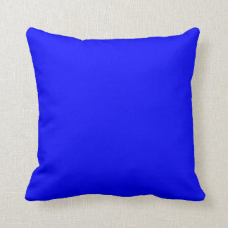 SQUARE - CUSHION. BLUE, SADDLE BROWN. THROW PILLOW