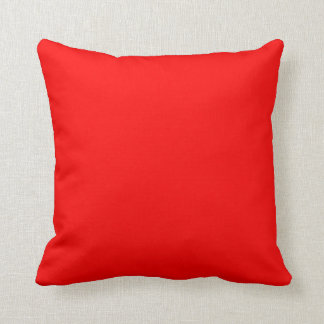 SQUARE- CUSHION. RED, TEAL. THROW PILLOW