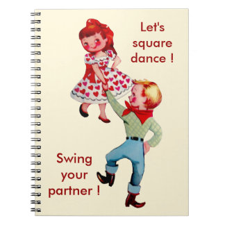 Square Dance School Notebook