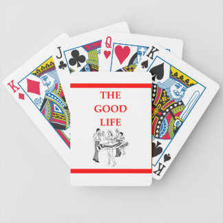 square dancing bicycle playing cards