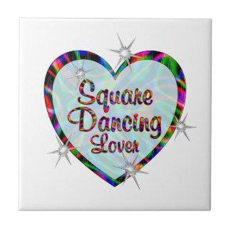 Square Dancing Lover Tiles
