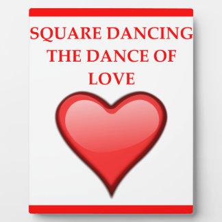 square dancing plaque