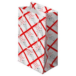 square dancing small gift bag