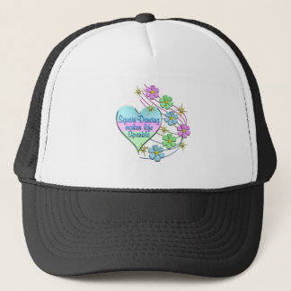Square Dancing Sparkles Trucker Hat