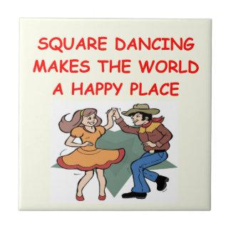 square dancing tile