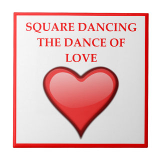 square dancing tile