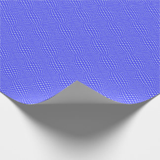 Square Dot Globe Wrapping Paper