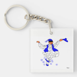 Square (double-sided) Keychain Evzone