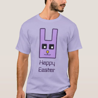 Square Easter Bunny T-Shirt