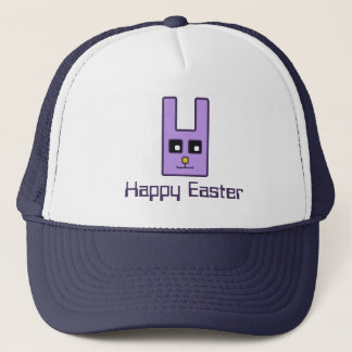 Square Easter Bunny Trucker Hat