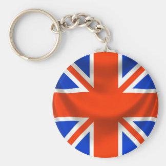 square english flag keychain