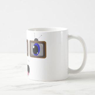 Square Eyes TV Mug