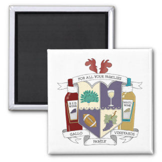 Square Fridge Magnet