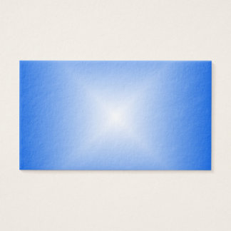 Square Gradient - Blue and White Business Card