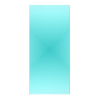 Square Gradient - Light Cyan and Turquoise Rack Cards