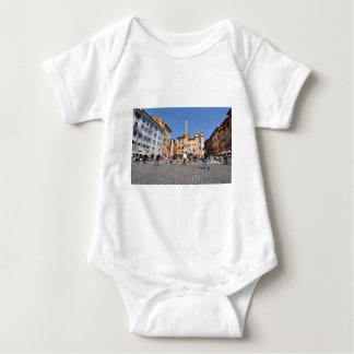 Square in Rome, Italy Baby Bodysuit