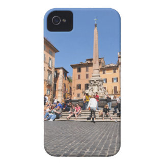 Square in Rome, Italy Case-Mate iPhone 4 Cases