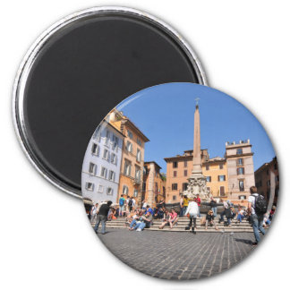 Square in Rome, Italy Magnet
