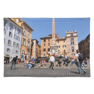 Square in Rome, Italy Placemat