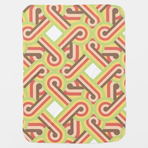 Square lined loops baby blankets