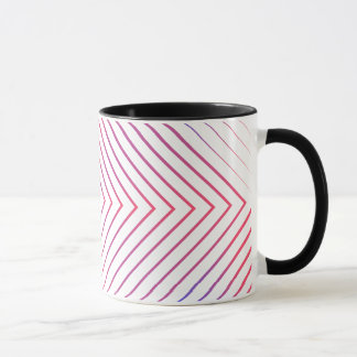Square lines patterns Mug