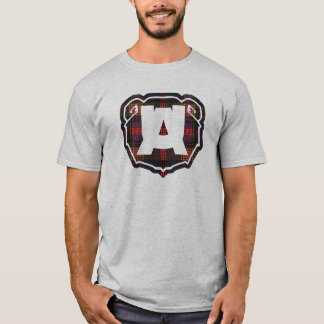 square logo ursus arctos printing T-Shirt