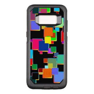 Square minimalists with contour gradient OtterBox commuter samsung galaxy s8 case