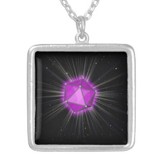 square necklace - prism code- jewel of Orion