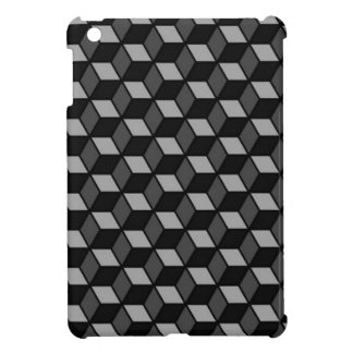 square optical illusion iPad mini cases