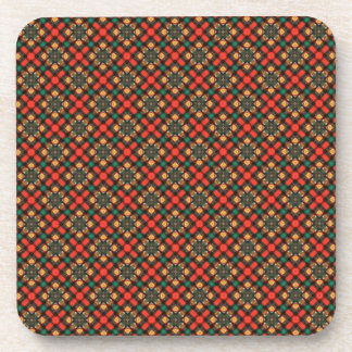 Square pattern coaster