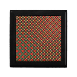 Square pattern gift box