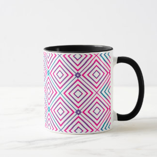 Square Pattern Gradient Mug