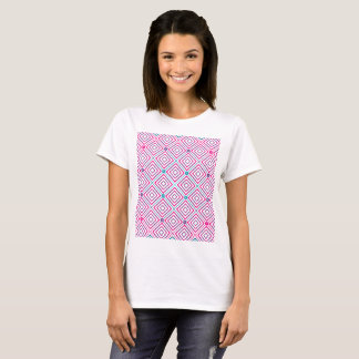 Square Pattern Gradient Women shirt