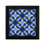 square patternserie 1 blue gift box