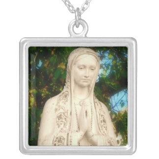 Square Pendant - Mother Mary