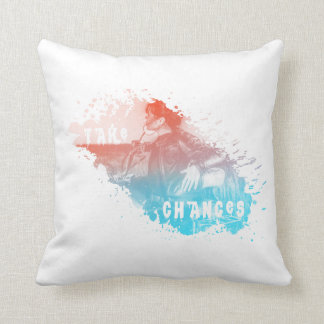 Square Pillow with a nice artistic Design