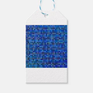 square pixel gift tags