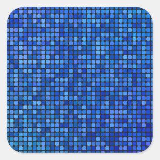 square pixel square sticker