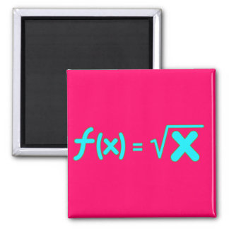 Square Root Function - Math Symbols Magnet