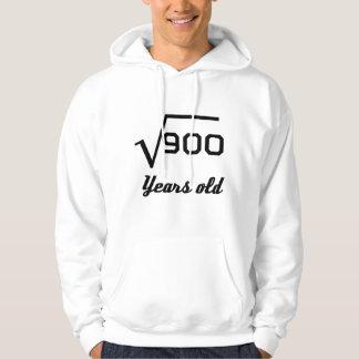 Square Root Of 900 30 Years Old Hoodie
