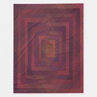 Square Root of the Rule of Thumb Fleece Blanket