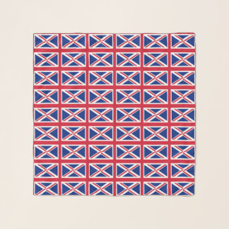 Square Scarf with flag of United Kingdom