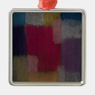 Square shaped ornament with an Abstract Design