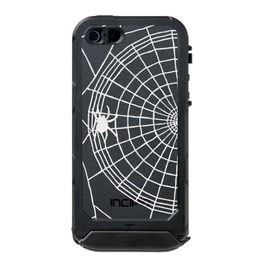Square Spider Web, Scary Halloween Design Incipio ATLAS ID™ iPhone 5 Case