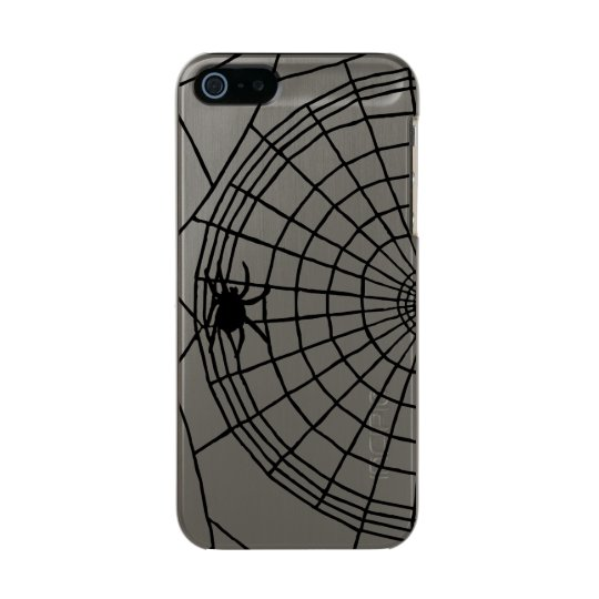 Square Spider Web, Scary Halloween Design Incipio Feather® Shine iPhone 5 Case