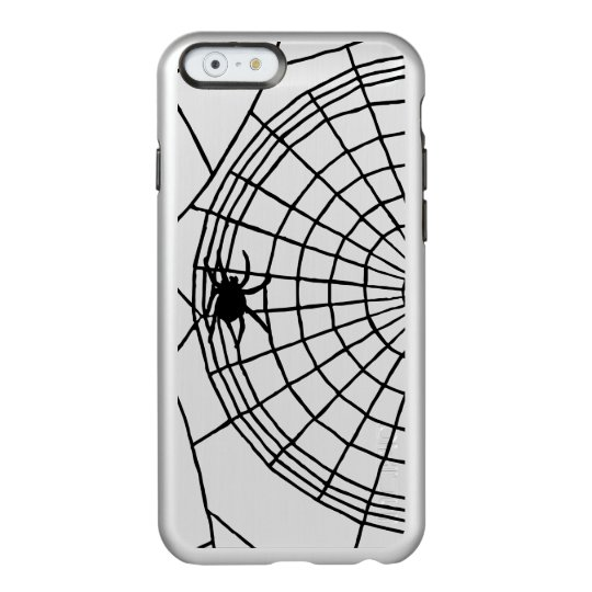 Square Spider Web, Scary Halloween Design Incipio Feather® Shine iPhone 6 Case