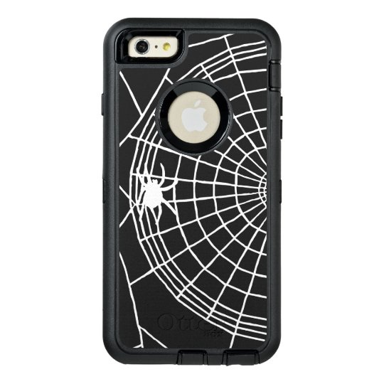Square Spider Web, Scary Halloween Design OtterBox iPhone 6/6s Plus Case